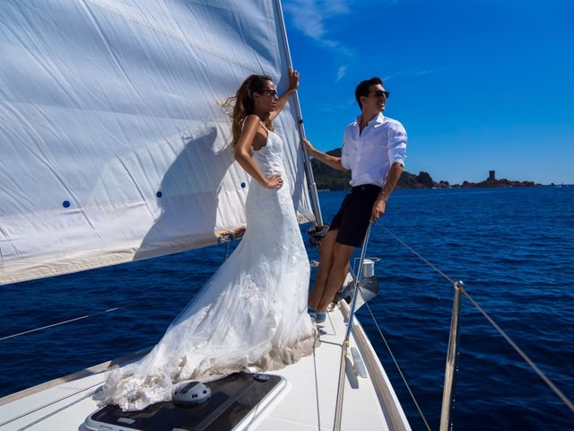 Le mariage de Yann et Nesrine à Saint-Raphaël, Var 41