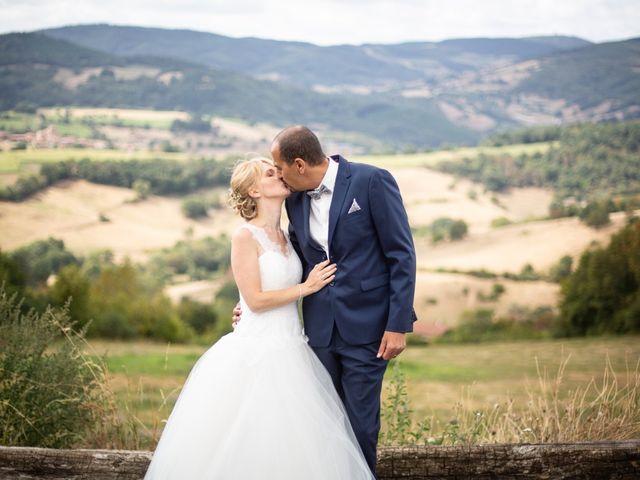 Le mariage de Belaïd et Stéphanie à Saint-Forgeux, Rhône 10