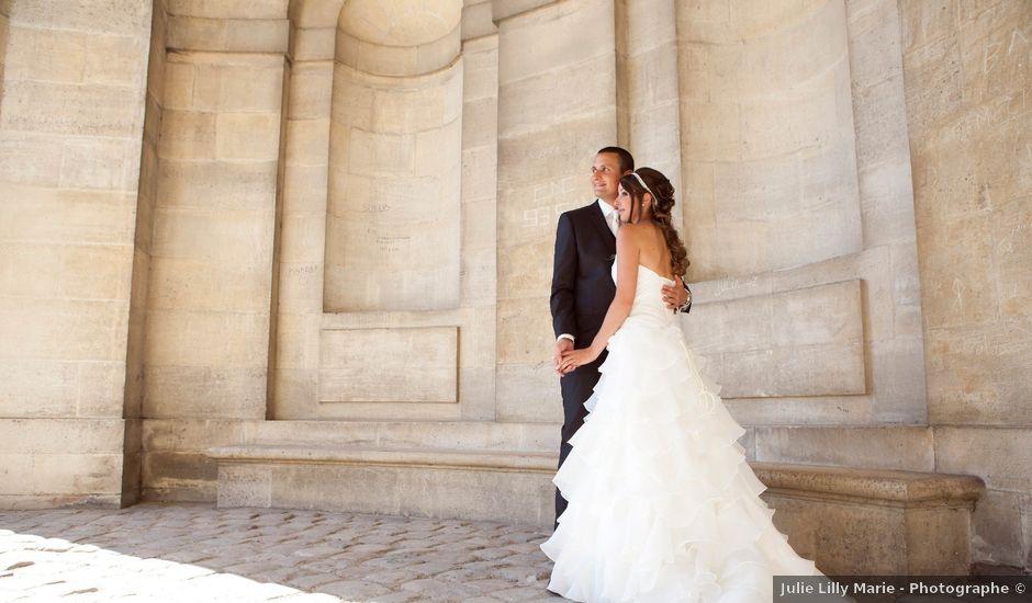 Le mariage de Florent et Adeline à Vincennes, Val-de-Marne