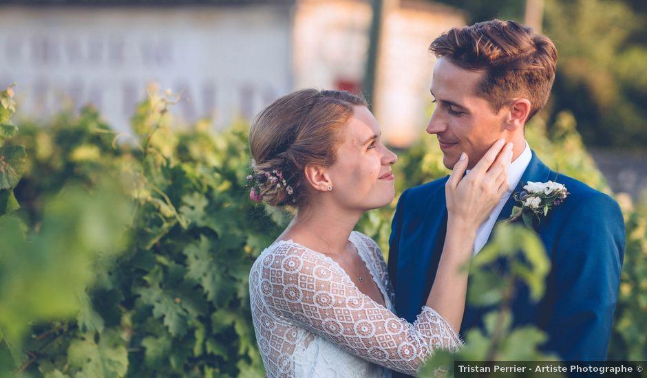 Le mariage de Robin et Eugénie à Saint-Germain-du-Puch, Gironde
