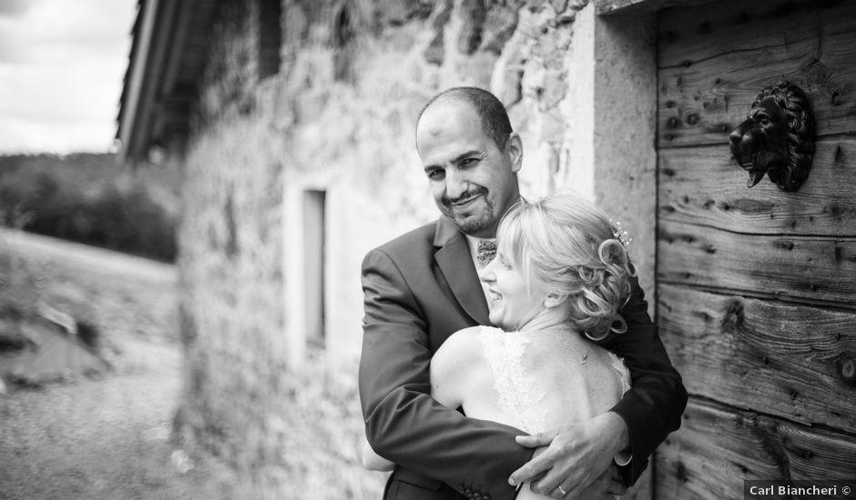 Le mariage de Belaïd et Stéphanie à Saint-Forgeux, Rhône