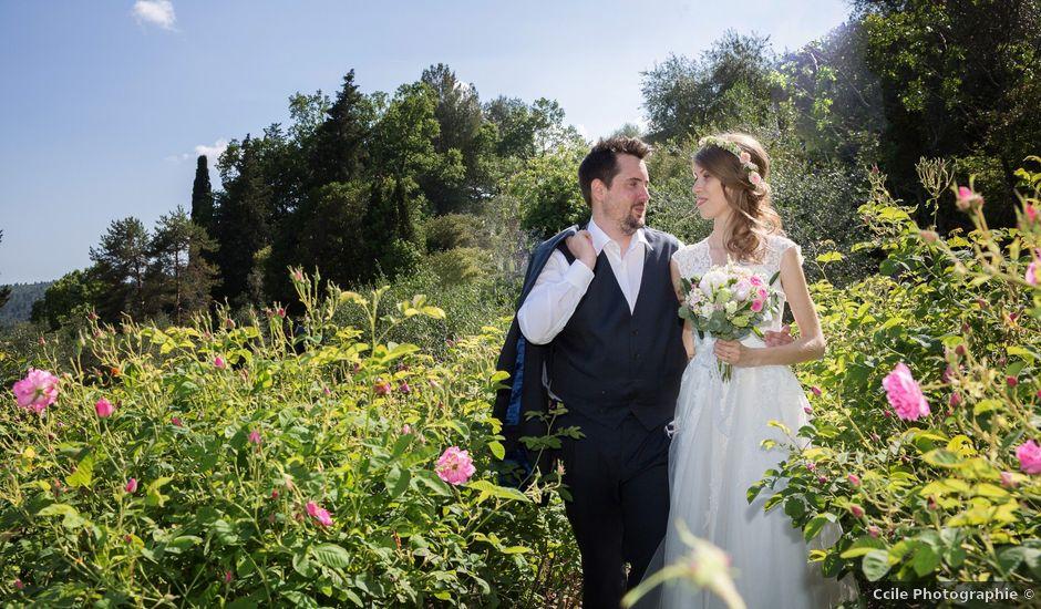Le mariage de Guillaume et Angélique à Grasse, Alpes-Maritimes