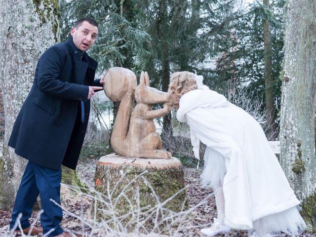 Le mariage de Aurélien  et Léa à Vittel, Vosges 7