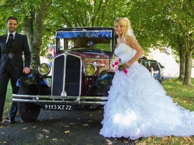 Le mariage de Davy et Aurélie à Moncé-en-Belin, Sarthe 31