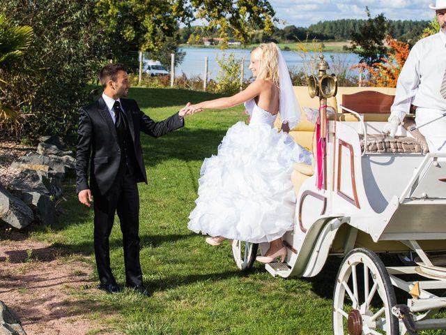 Le mariage de Davy et Aurélie à Moncé-en-Belin, Sarthe 34