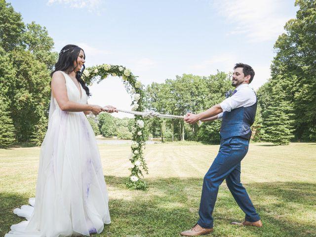 Le mariage de Mike et Rachel à Châtillon-sur-Loire, Loiret 10
