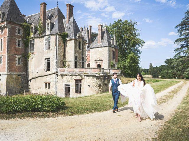 Le mariage de Mike et Rachel à Châtillon-sur-Loire, Loiret 1