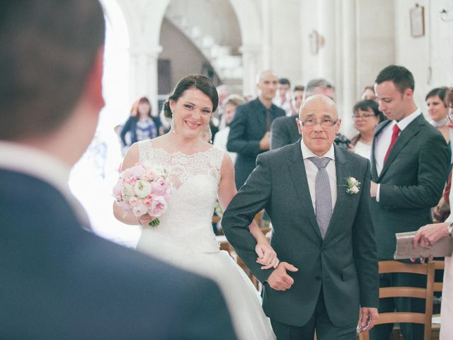 Le mariage de Matthieu et Lise à Lusignan, Vienne 36