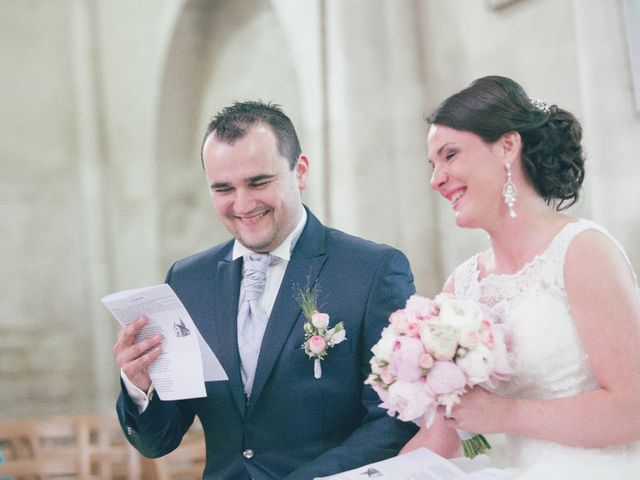 Le mariage de Matthieu et Lise à Lusignan, Vienne 38
