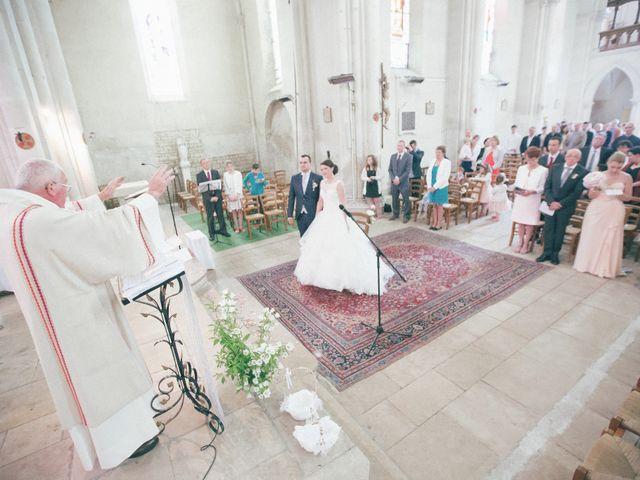 Le mariage de Matthieu et Lise à Lusignan, Vienne 39