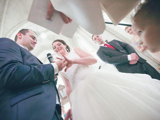 Le mariage de Matthieu et Lise à Lusignan, Vienne 44
