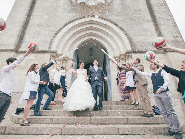 Le mariage de Matthieu et Lise à Lusignan, Vienne 50