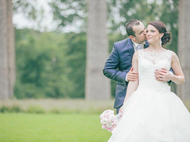 Le mariage de Matthieu et Lise à Lusignan, Vienne 74