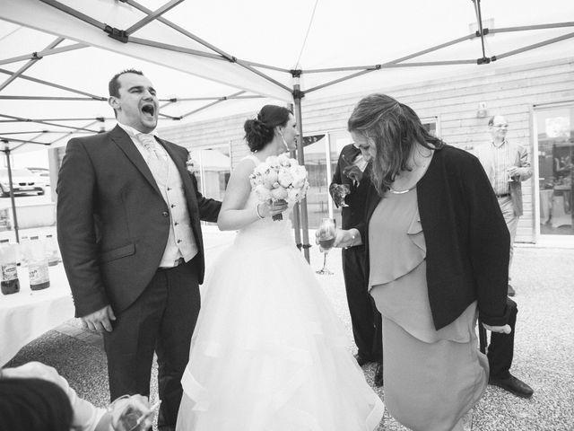 Le mariage de Matthieu et Lise à Lusignan, Vienne 83