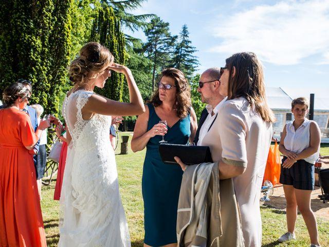 Le mariage de Guillaume et Stellina à Méry-sur-Cher, Cher 44