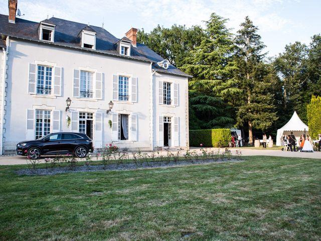 Le mariage de Guillaume et Stellina à Méry-sur-Cher, Cher 55