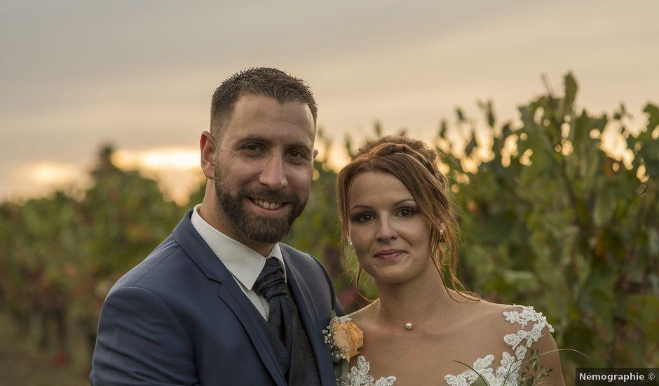 Le mariage de Xavier et Anaïs à Fréjairolles, Tarn
