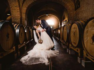 Le mariage de Domenica et Thibault