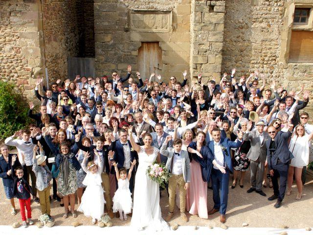 Le mariage de Guillaume et Audrey à Épinouze, Drôme 13