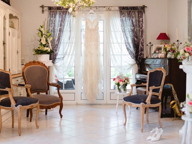 Le mariage de Thibault et Domenica à Villeneuve-Loubet, Alpes-Maritimes 16