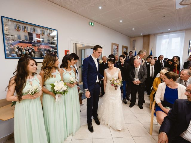 Le mariage de Thibault et Domenica à Villeneuve-Loubet, Alpes-Maritimes 25