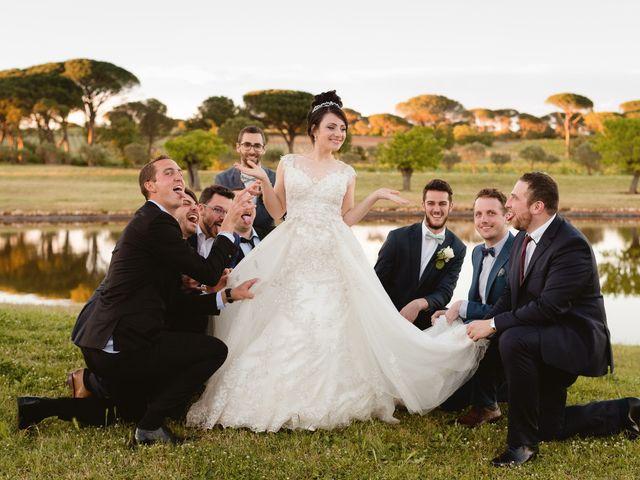 Le mariage de Thibault et Domenica à Villeneuve-Loubet, Alpes-Maritimes 96