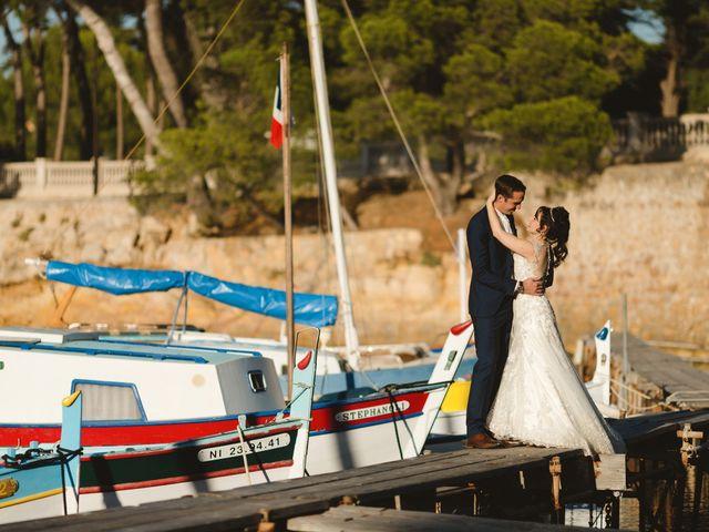 Le mariage de Thibault et Domenica à Villeneuve-Loubet, Alpes-Maritimes 124