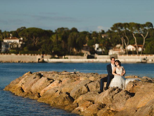 Le mariage de Thibault et Domenica à Villeneuve-Loubet, Alpes-Maritimes 125
