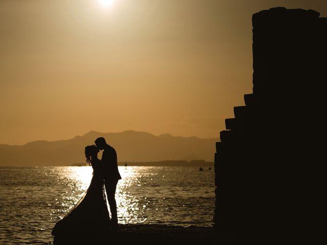 Le mariage de Thibault et Domenica à Villeneuve-Loubet, Alpes-Maritimes 127