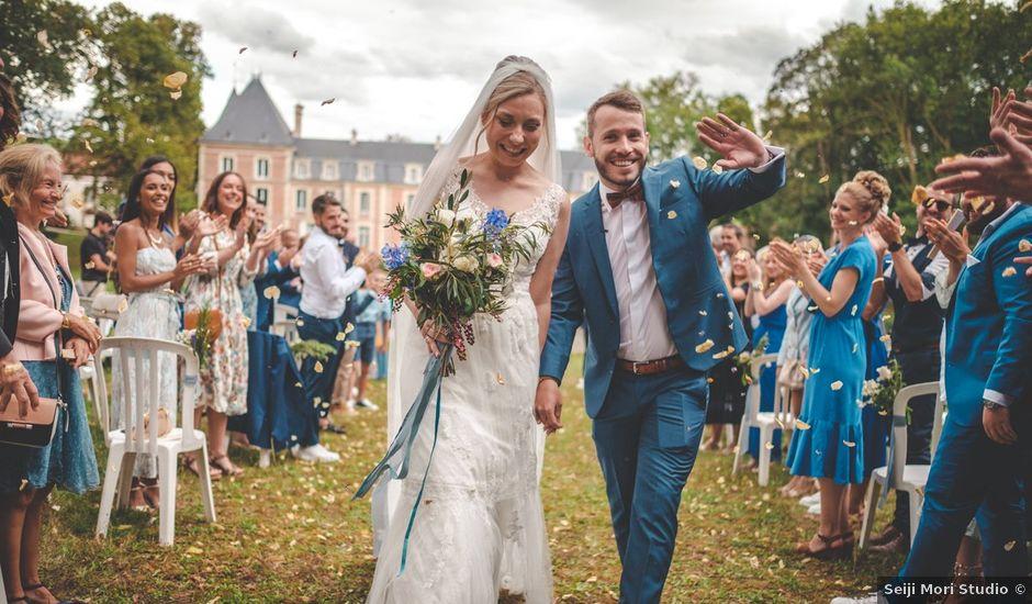 Le mariage de Thomas et Eleonore à Seraincourt, Val-d'Oise