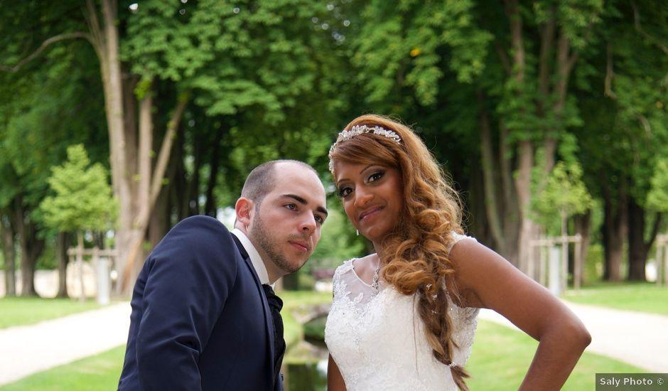Le mariage de Warren et Cynthia à Goussainville, Val-d'Oise