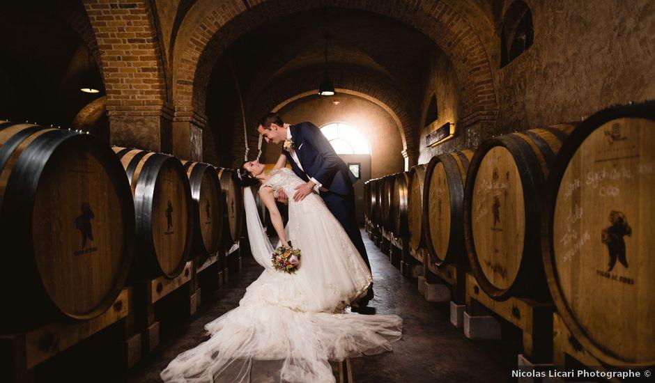 Le mariage de Thibault et Domenica à Villeneuve-Loubet, Alpes-Maritimes