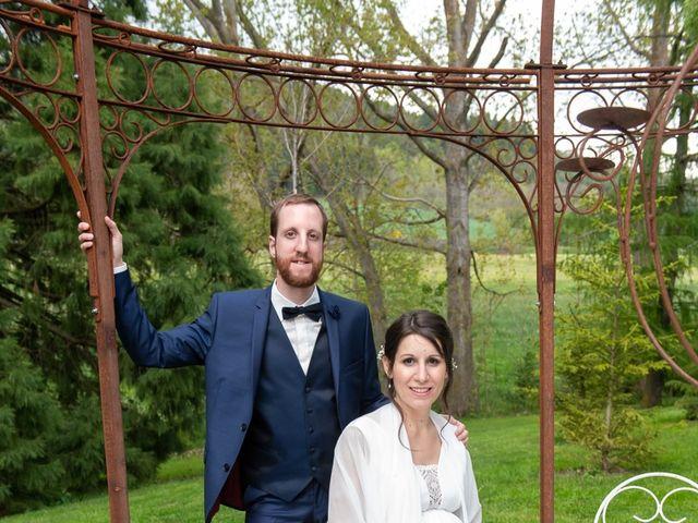 Le mariage de Mathieu et Lucie à Chaspinhac, Haute-Loire 7