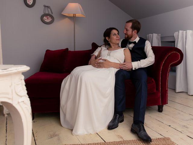 Le mariage de Mathieu et Lucie à Chaspinhac, Haute-Loire 8
