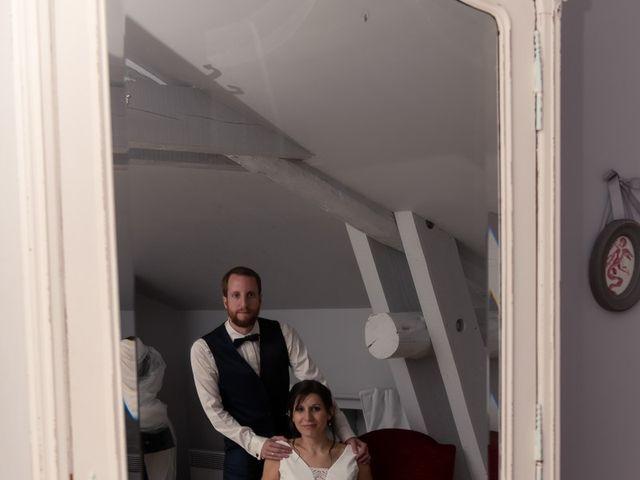 Le mariage de Mathieu et Lucie à Chaspinhac, Haute-Loire 9