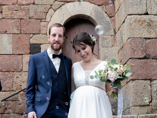 Le mariage de Mathieu et Lucie à Chaspinhac, Haute-Loire 10