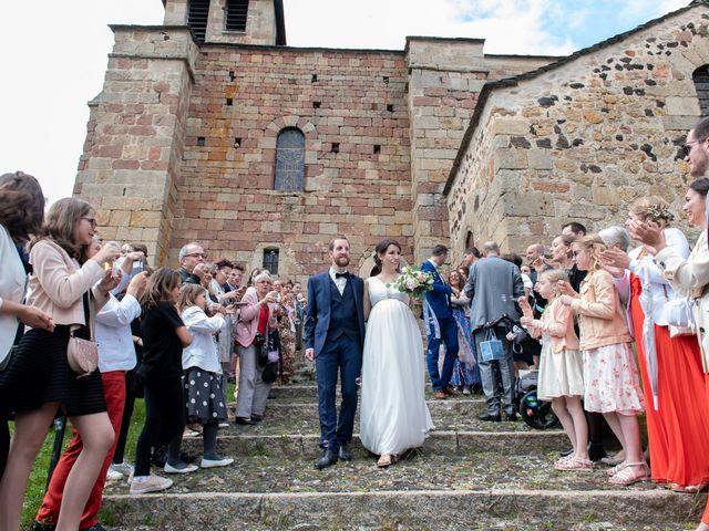 Le mariage de Mathieu et Lucie à Chaspinhac, Haute-Loire 12