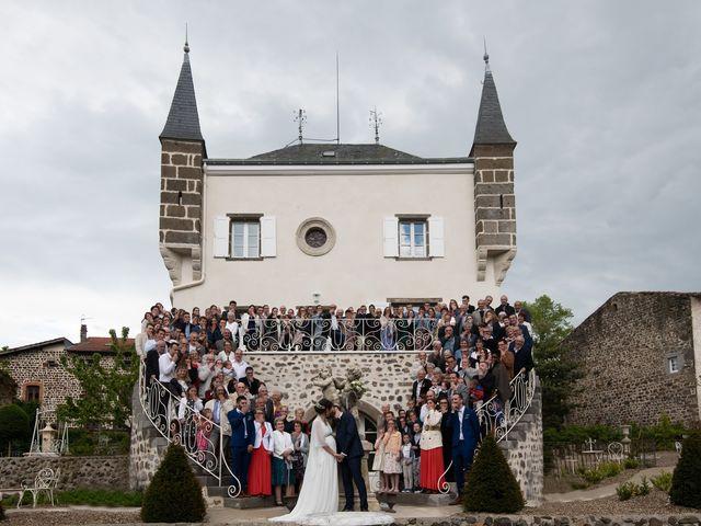 Le mariage de Mathieu et Lucie à Chaspinhac, Haute-Loire 15