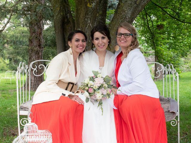 Le mariage de Mathieu et Lucie à Chaspinhac, Haute-Loire 17