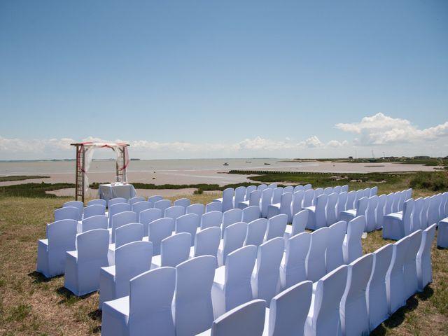 Le mariage de Mathieu et Lina à Île d'Aix, Charente Maritime 3