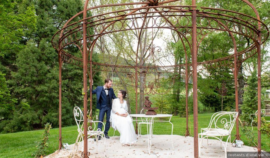 Le mariage de Mathieu et Lucie à Chaspinhac, Haute-Loire