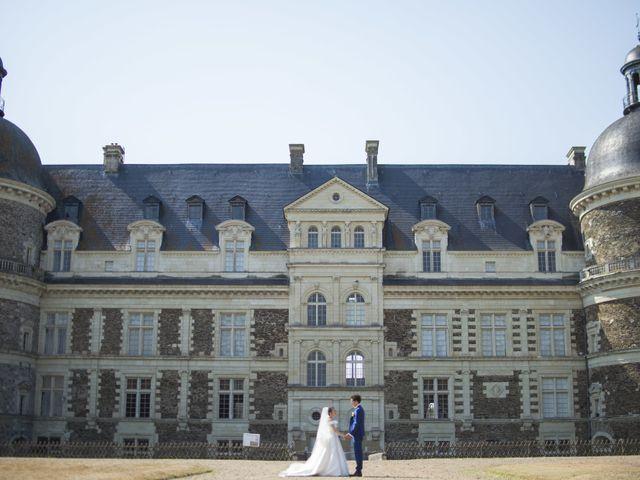Le mariage de Olivier et Lucie à Saint-Georges-sur-Loire, Maine et Loire 1