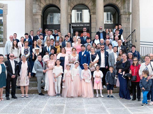 Le mariage de François et Fanny à Lannion, Côtes d'Armor 81