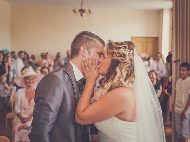Le mariage de Jonathan et Gladys à Vonnas, Ain 20