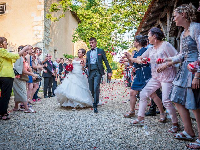 Le mariage de Benjamin et Mathilde à Chauvigny, Vienne 2