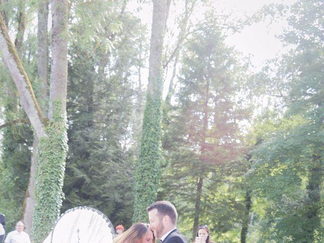 Le mariage de Guillaume et Aurélie à Landaville, Vosges 74
