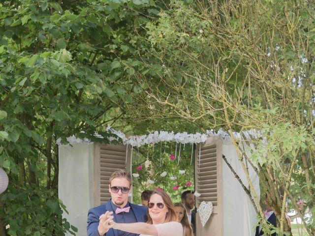 Le mariage de Guillaume et Aurélie à Landaville, Vosges 77