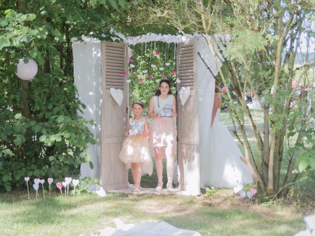 Le mariage de Guillaume et Aurélie à Landaville, Vosges 85