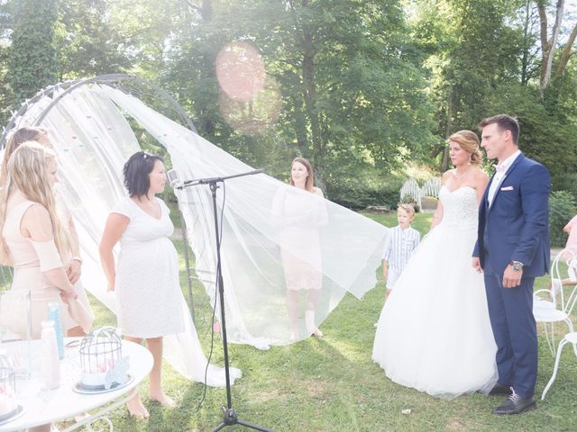 Le mariage de Guillaume et Aurélie à Landaville, Vosges 93