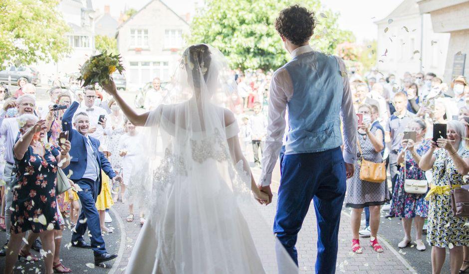 Le mariage de Olivier et Lucie à Saint-Georges-sur-Loire, Maine et Loire
